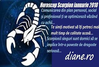 Horoscop ianuarie 2018 Scorpion