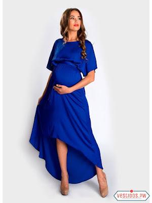 vestidos para embarazadas con sandalias
