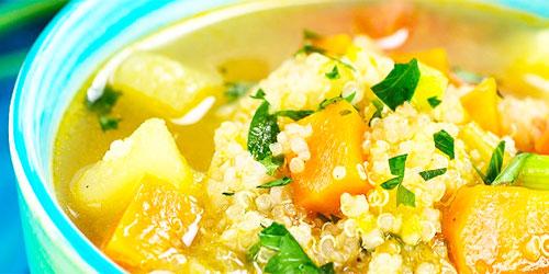 Sopa de Quinoa facil