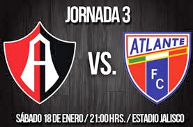 Atlas vs Atlante en Vivo