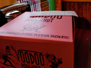 Voodoo Doughnuts box, Portland