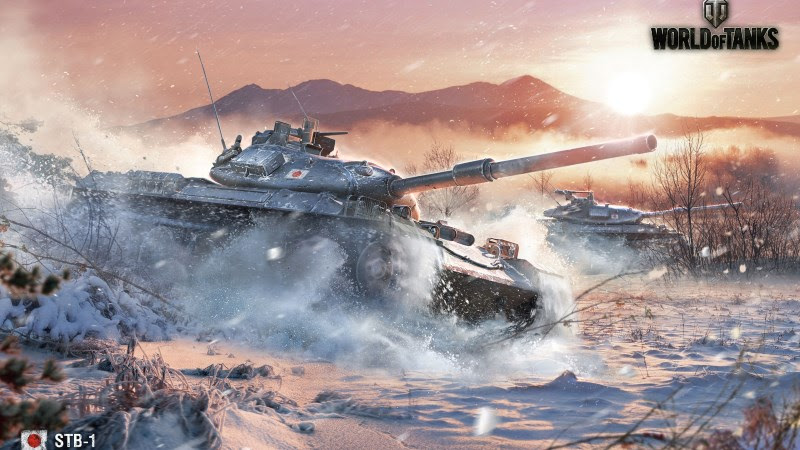 World Of Tanks (STB-1) HD