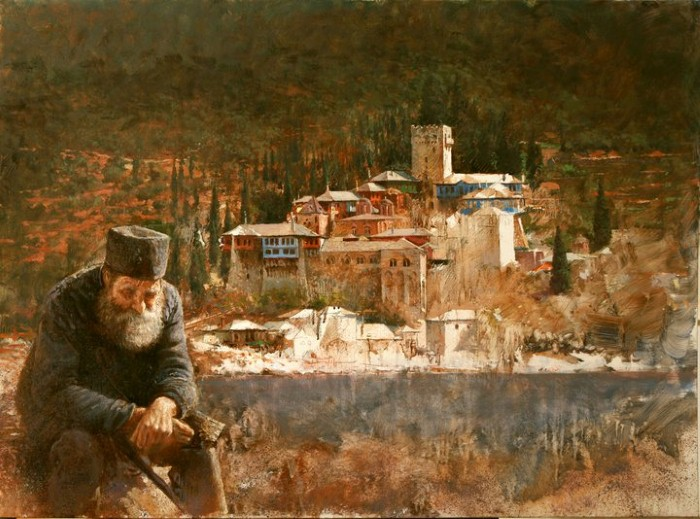 Балканский художник