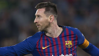 Barcelona and Argentinian forward  Lionel Messi