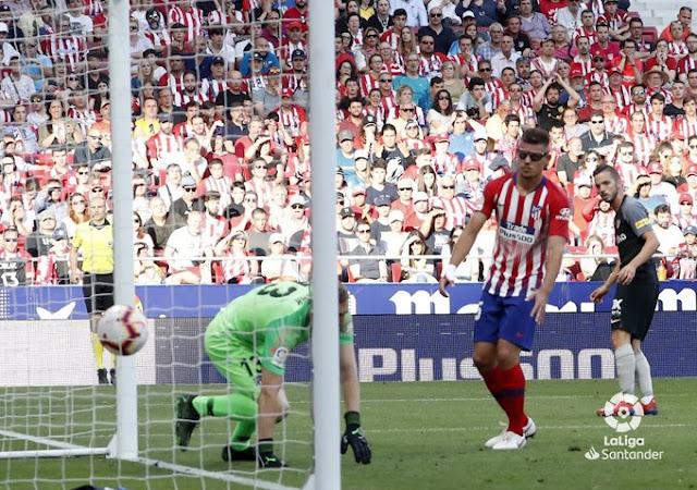 Crónica Atlético de Madrid 1 - Sevilla FC 1