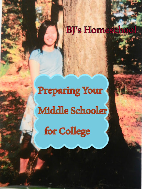 Homeschooling towards College - 7 Things to think about during Middle School