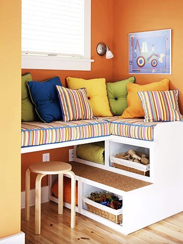 Storage ideas for kids bedrooms ~ Home Decorating Ideas