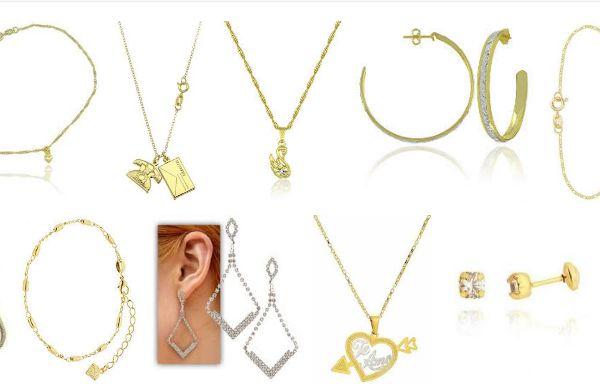 Ofertas e Promoções de Semi Jóias Folheados a Ouro e Prata