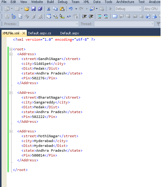 .Net Tutorial: How To Bind A XML File To A GridView Using