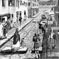 La vida cotidiana de los romanos del imperio