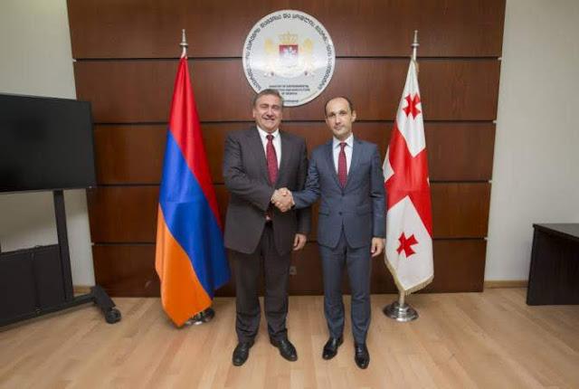 Armenia y Georgia estudian como mejorar la cooperación agrícola
