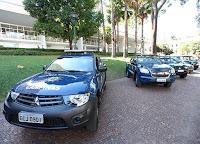 Guarda Municipal de Campinas recebe novas viaturas para atendimento à população