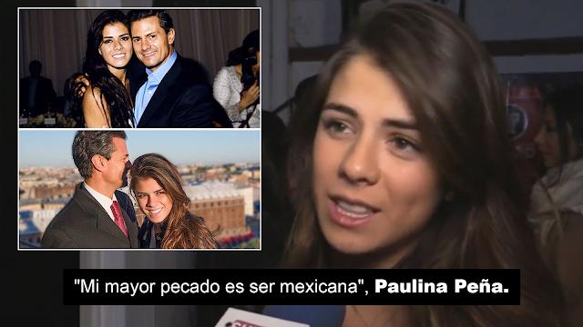 """""""Mi mayor pecado es ser mexicana y mi mayor virtud es saber escoger mi ropa"""": Paulina Peña"""