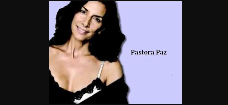 Pastora Paz sin maquillaje