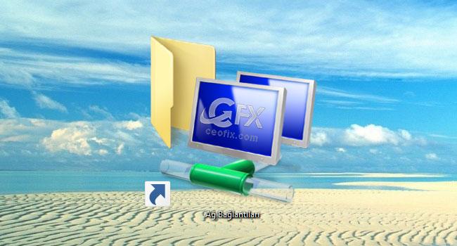 Windows'da Ağ bağlantılarına Ulaşmanın Kısayolu-www.ceofix.com