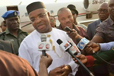 God has healed Buhari, says Akwa Ibom governor, Udom Emmanuel