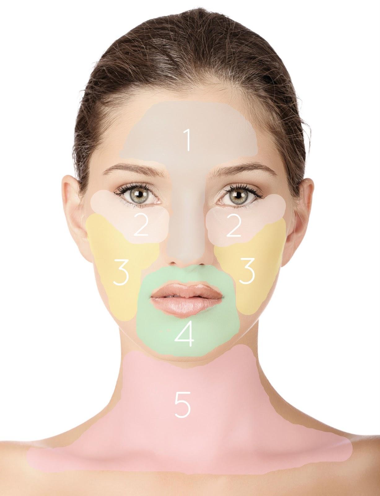 Le masque nettoyant pour la personne pour la peau normale