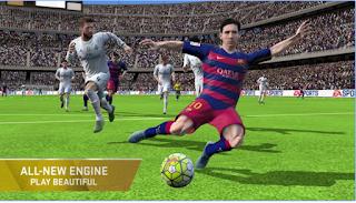 تحميل لعبة كرة القدم FIFA 16 APK اخر اصدار مجانا للاندرويد