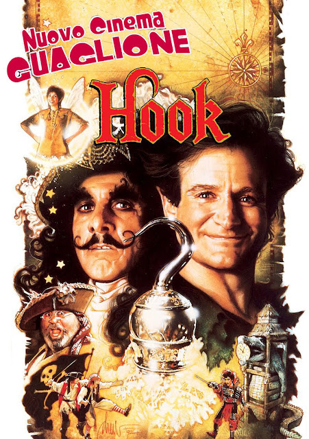 Hook - Capitan Uncino recensione poster