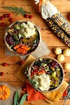 Roasted Vegan Thanksgiving Bowl - Top Recipes On The Internet
