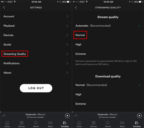Cara Hemat Kuota Streaming Spotify