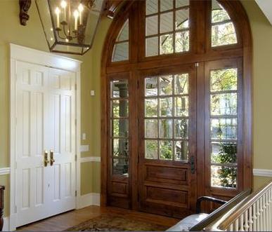 Fotos y dise os de puertas puertas de madera para entrada - Puertas de entrada de diseno ...