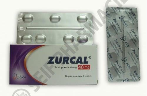 سعر ودواعي إستعمال زوركال Zurcal أقراص فيال لعلاج إرتجاع المريئ