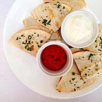 Quesadillas with Nomato Sauce - Tomato Free Salsa Recipe for Nightshade Intolerance
