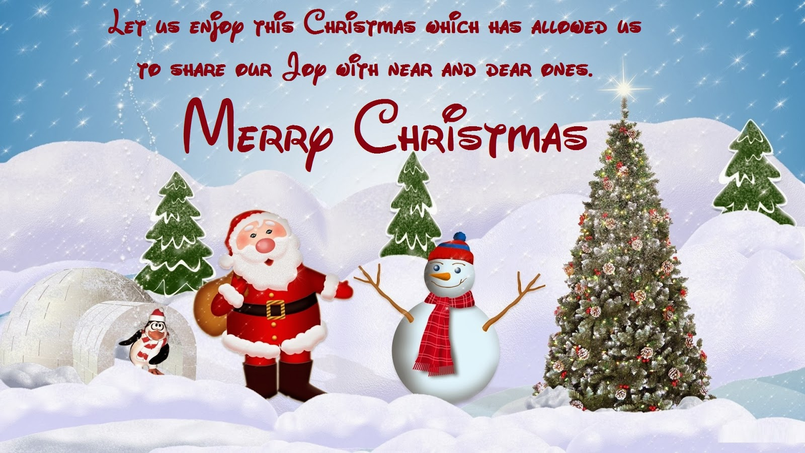cute and best loved wallpapers and sms: more christmas wallpapers