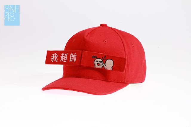 topi hat official merchandise snh48 faka