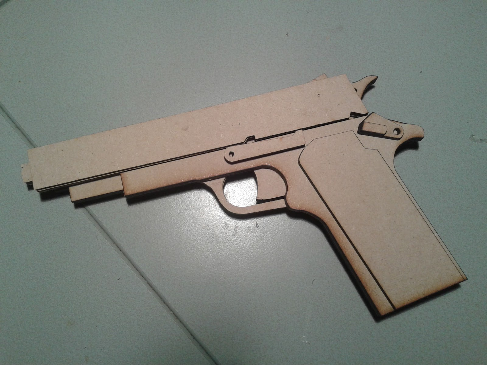 D Printing RC CNC Laser Projects Blowback Rubber Band Gun