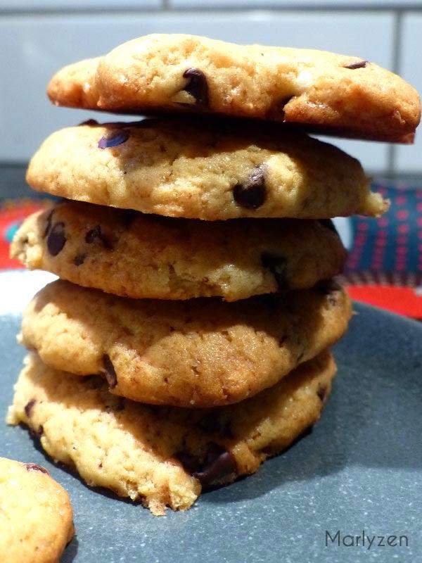 Cookies moelleux de Mike.