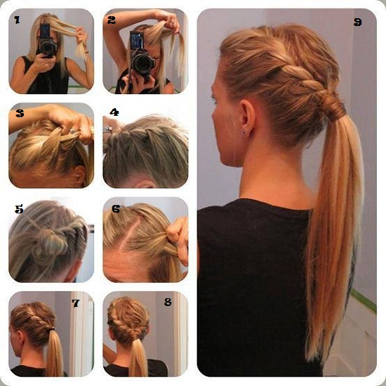 Swell Best Quick And Simple Hairstyle Pics Tutorial Pak Fashion Short Hairstyles Gunalazisus