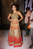 Jenny in brown transparent sleeveless anarkali dress at Shamanthakamani pre release function ~  Exclusive 011.JPG