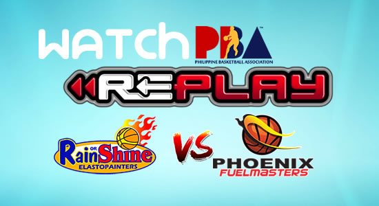 Video List: ROS vs Phoenix game replay January 17, 2018 PBA Philippine Cup