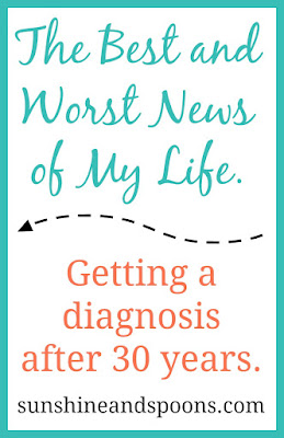 The best and worst news of my life: getting an EDS diagnosis after 30 years