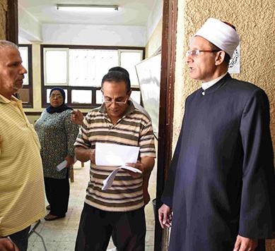 امتحانات الثانوية الازهريه للقسم الادبى والشعبة الاسلامية