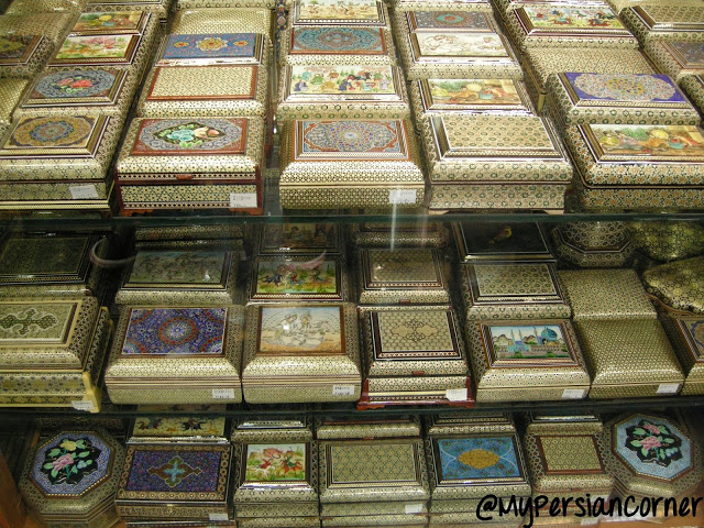 Iran, handicrafts, souvenirs, what to buy