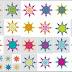 Mandala Snowflakes.