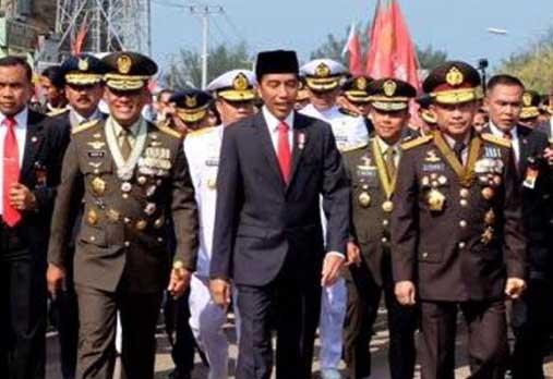 Jokowi Ingatkan TNI Untuk Setia kepada Pemerintah