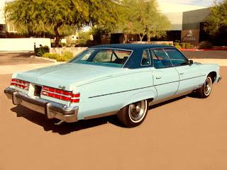 1975 Pontiac Grand Ville Rear Right