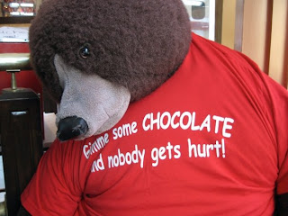 Gimme some chocolate and nobody gets hurt! The Desserts With Benefits Blog