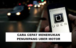 5 Tips Menemukan Tempat Ramai Penumpang Uber motor