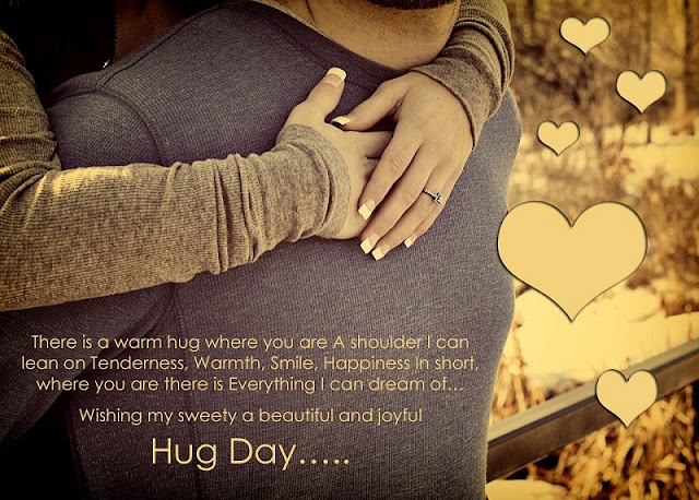 Happy Hug Day Quotes With Images 2018, hug day quote images download