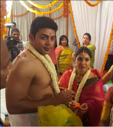 Raghu Mukherjee wedding with Anu  Anu prabhakar