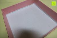 Box innen: A TE® Armband Charms Damen Kristall Blau Muranoglas Blume Glasperle Mädchen Geschenk Frauen #JW-B94