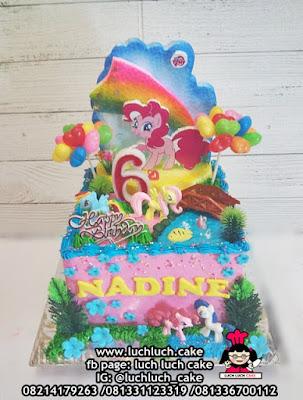 Kue Tart Buttercream Cantik Kuda Pony