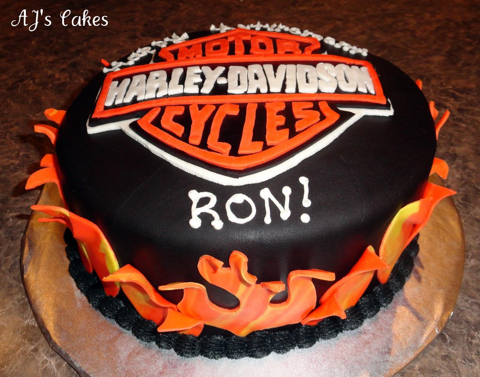 Ajs Cakes Harley Davidson Cake