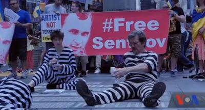 На Майдане состоялась акция в поддержку Сенцова