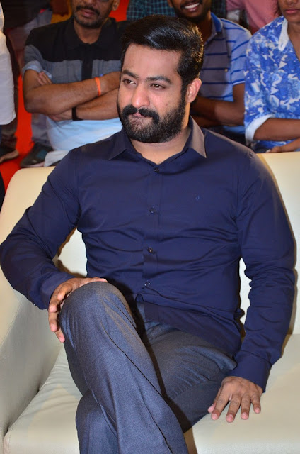 Jr NTR at Jai Lava Kusa Audio Launch Press Meet